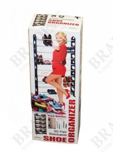 фото Органайзер для обуви модульный на 30 пар (Stackable Shoe Rack)