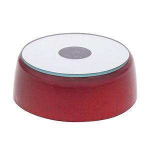 фото Подставка под хрусталь на батарейке, красный, d-60 мм (кор 300 шт)