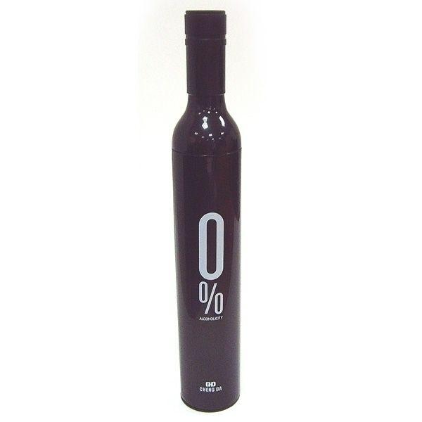 фото Зонт в бутылке черный