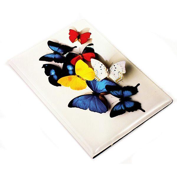 фото Обложка на паспорт N242 Бабочки NEW