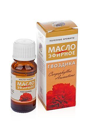 фото Гвоздика 10 мл 100% эфирное масло (кор 54 шт)