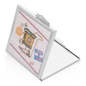 фото Набор подарочный: зеркальце 6х6 см + брелок