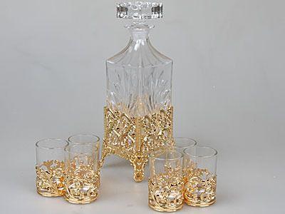 фото графин со стаканами, 7 предметов Rosenberg 2139