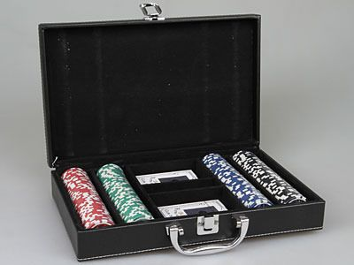 фото набор для покера, 4 персоны Rosenberg 6920