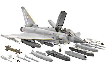 фото Самолет Истребитель Eurofighter Typhoon (2 пилота)