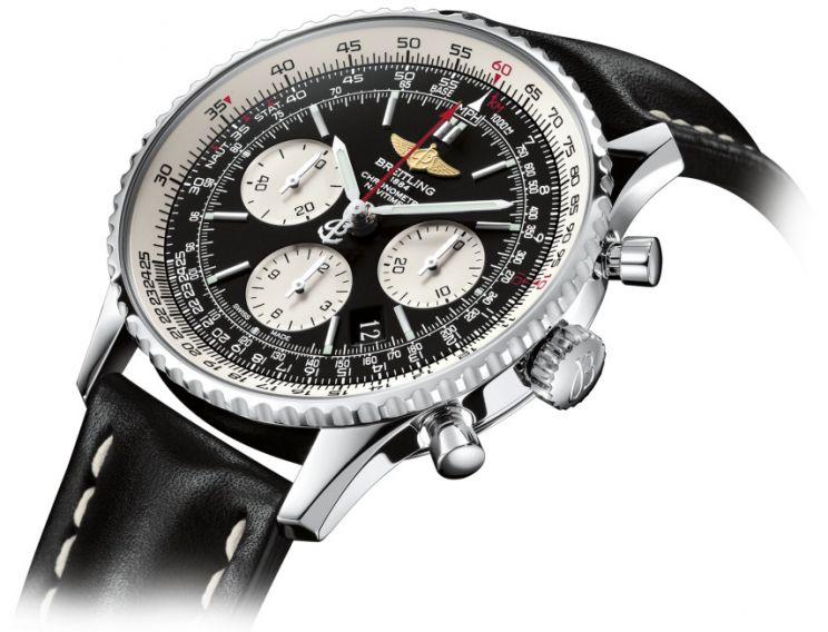 Часы наручные мужские Breitling Сhronograph Navitimer (брайтлинг хронометр навитаймер