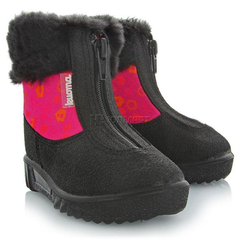 88dbb4d22 Ботинки детские Kuoma БЕБИ WOOL, размер 21, цвет розовый (6410901479210)