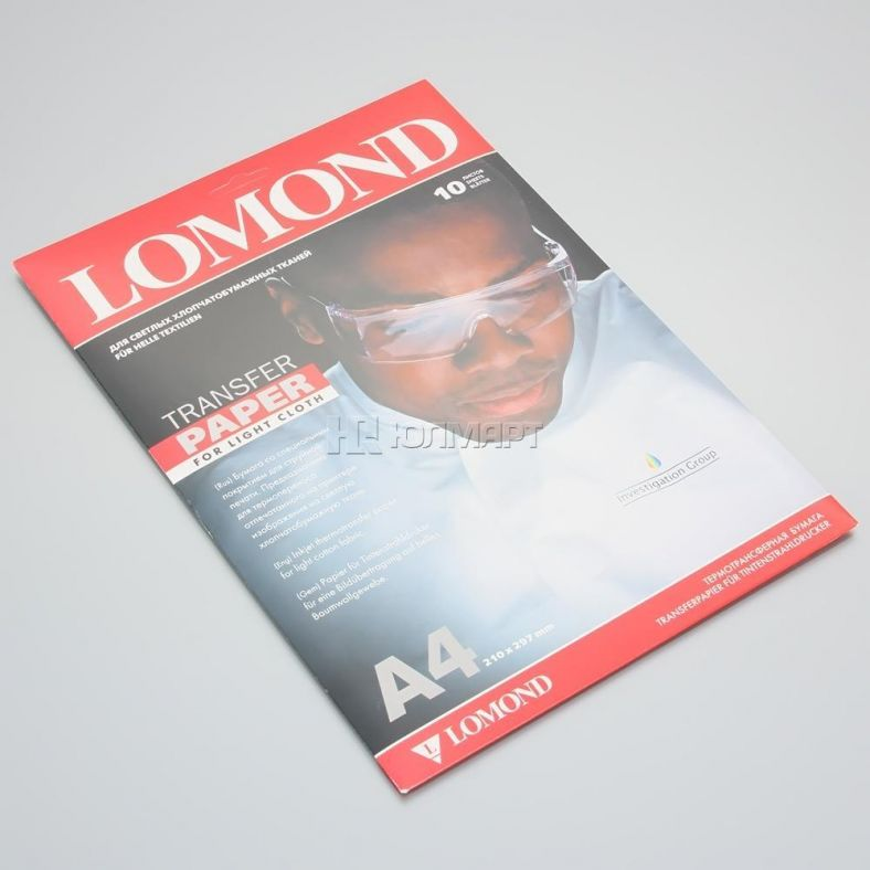 Бумага для термопереноса Lomond 8 8441 - DNS