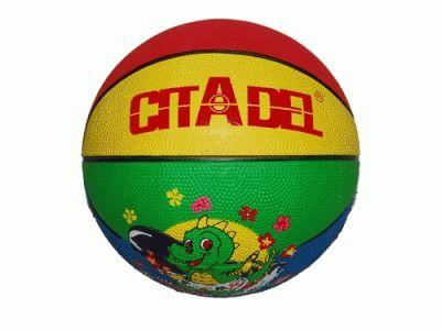 фото Мяч баскетбольный SPRINTER № 3 Игровой и тренировочный мяч для мини баскетбола. Полиуретан, нейлоновый корд, бутиловая камера.
