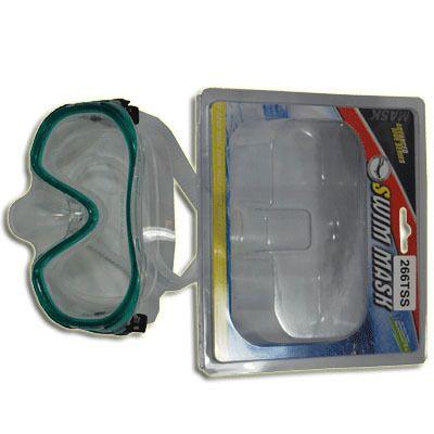 фото Маска для плавания силикон + пластик 266 TSS