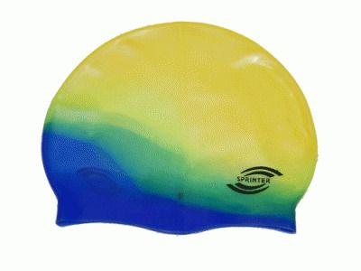 фото Шапочка для плавания Sprinter (мультицвет) New!!! S-300