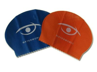 фото Шапочка для плавания. 4 цвета. Полиэтиленовая упаковка. Материал: Латекс. SS-02