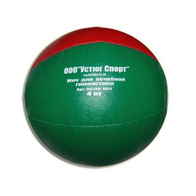 фото Мяч гим. медбол 4 кг (к/з цветной, резная крошка). 3С146-К64