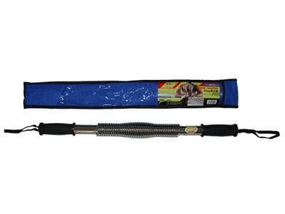 фото Эспандер - палка нагрузка 30 кг. ( хромированный металл, пластиковые ручки ) D1230