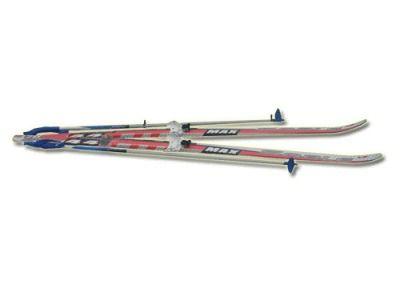 фото Лыжный комплект STC ( лыжи, палки, крепл. 75 мм ) р. 150см 150