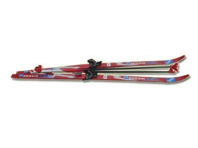 фото Лыжный комплект STC ( лыжи, палки, с комб. крепл. ) р.120