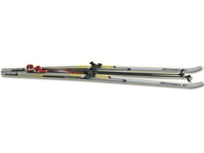 фото Лыжный комплект STS ( лыжи, палки, крепл. 75 мм.) р. 190
