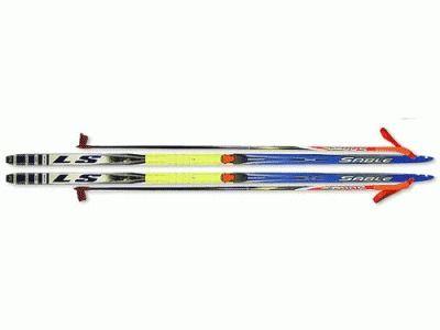 фото Лыжный комплект STS ( лыжи, палки, крепл. SNN.) р150 SNN