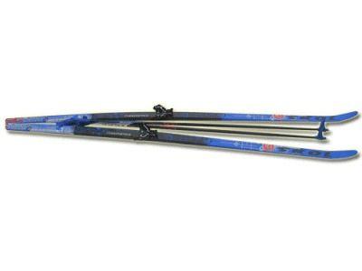 фото Лыжный комплект STS( лыжи, палки, крепл. 75 мм.) р. 200