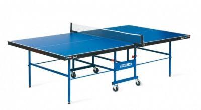 фото Теннисный стол START LINE Sport 18 мм, мет.кант, без сетки, обрезинен. ролики, регулируемые опоры