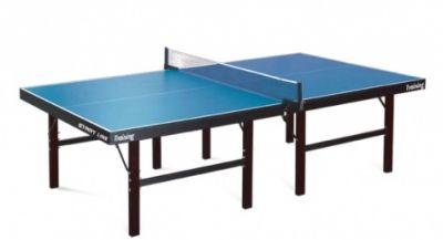 фото Теннисный стол START LINE TRAINING 22 мм, кант 60 мм, без сетки, на роликах, складные опоры