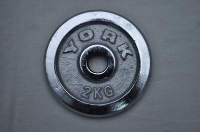 фото Диск для штанги хромированный. D-26 мм. Вес 1,5 кг DY-1.5