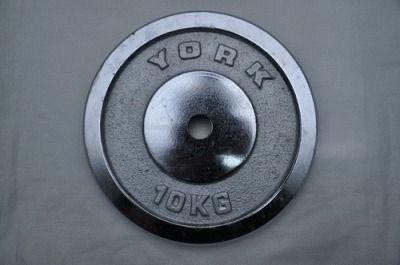 фото Диск для штанги хромированный. D-26 мм. Вес 10 кг DY-10