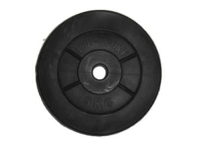 фото Диск для штанги. Вес 5 кг. (пластик) Z-5KG