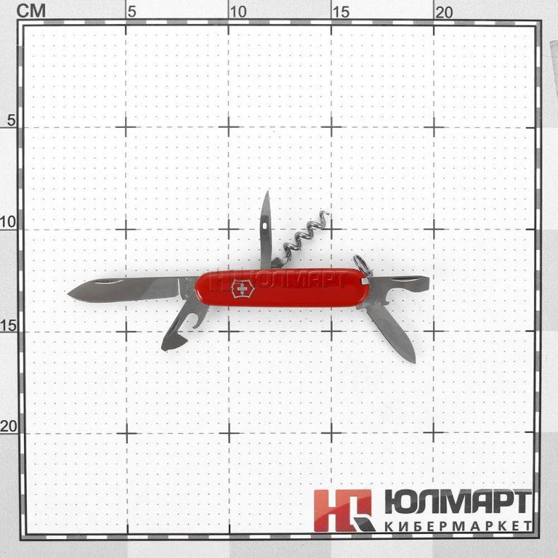 фото Нож перочинный Victorinox Tourist 0.3603, 84мм, 12 функций, красный