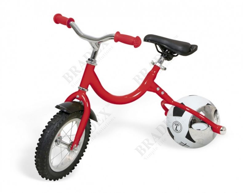 фото Беговел с колесом в виде мяча «ВЕЛОБОЛЛ» красный (Walking bike on ball, two)