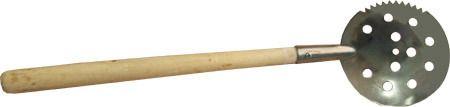 фото Черпак для льда N 2 с деревянной ручкой длина 37 см