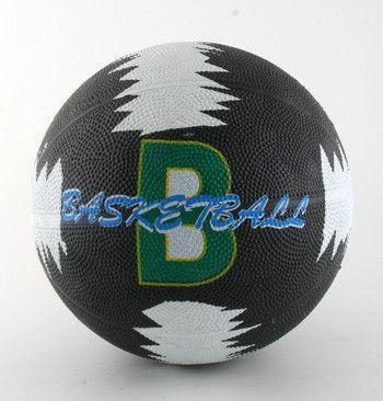 фото Мяч баск. №5 резин. , цветной ,