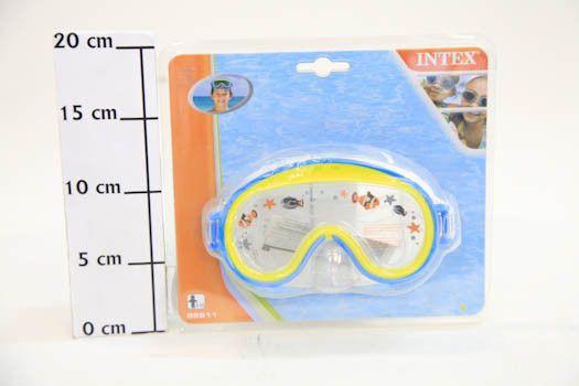 фото Маска для плавания детская Mini Aviator 3-8 лет 2цвета