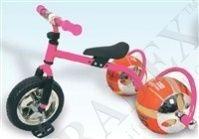 фото Велосипед с колесами в виде мячей «БАСКЕТБАЙК» розовый (Bike on ball)