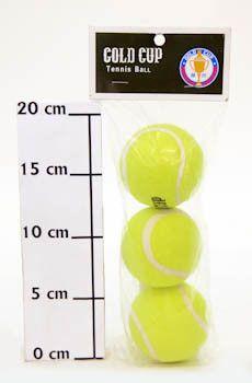 фото Мяч для бол. тенниса 3 шт. в пак. (цена за уп. ) Gold Cup TWX006