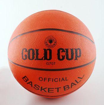 фото Мяч баск. №5 резин. Gold Cup G705
