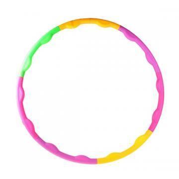 фото Обруч разборный 90 см, цветной пластик