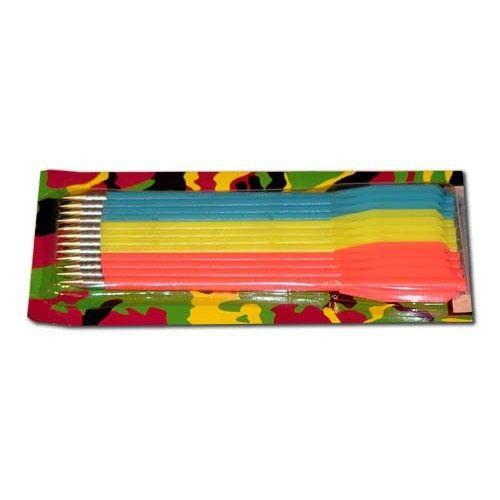 фото Стрелы для арбалета-пистолета пластик 6,5  (три цвета, 12 шт.)