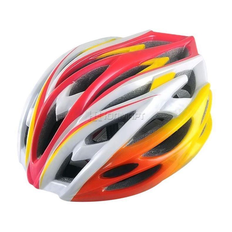 фото Велошлем Action, размер M, регулируемая застежка, красный, 931 -PW Красн. р.M