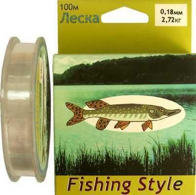 фото Леска Fishing Style RL2908 0.25mm тест 4.94кг 100m
