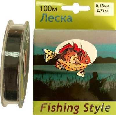 фото Леска Fishing Style RL2911 0.16mm тест 2.34кг 100m