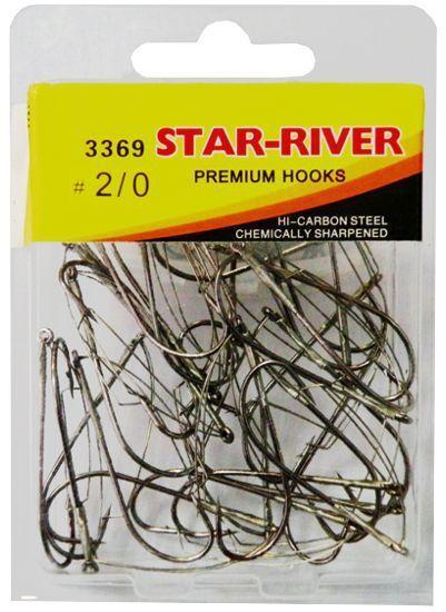 фото Крючок-незацепляйка STAR-RIVER 3369 N2 0 с длинным цевьем (в упак.30шт)