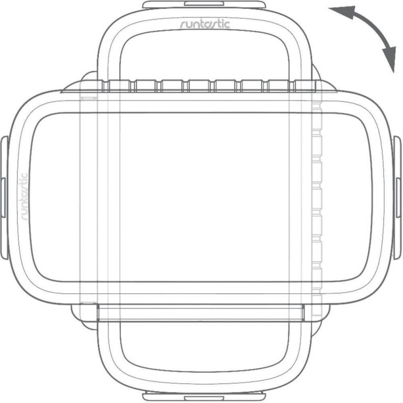 фото Велосипедное крепление Runtastic для Android и WindowsPhone смартфонов RUNCAA1B. Черный