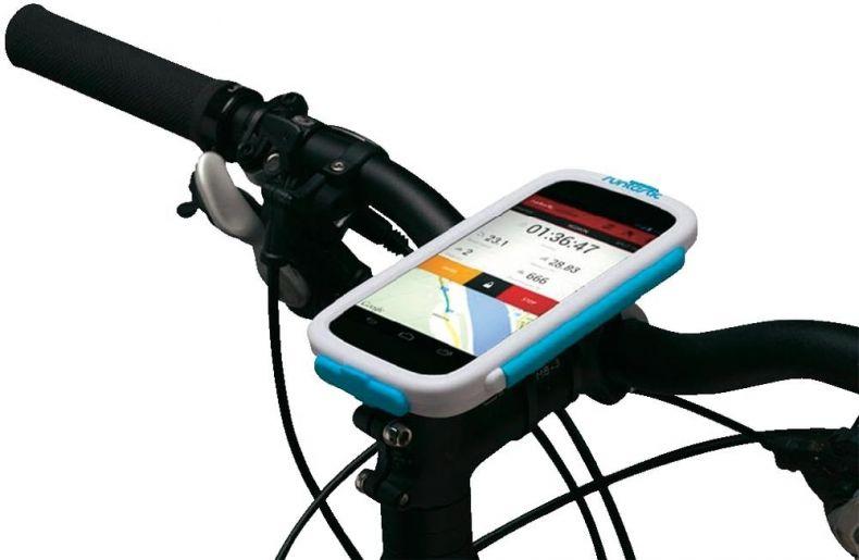 фото Велосипедное крепление Runtastic для Android и WindowsPhone смартфонов RUNCAA1W. Белый