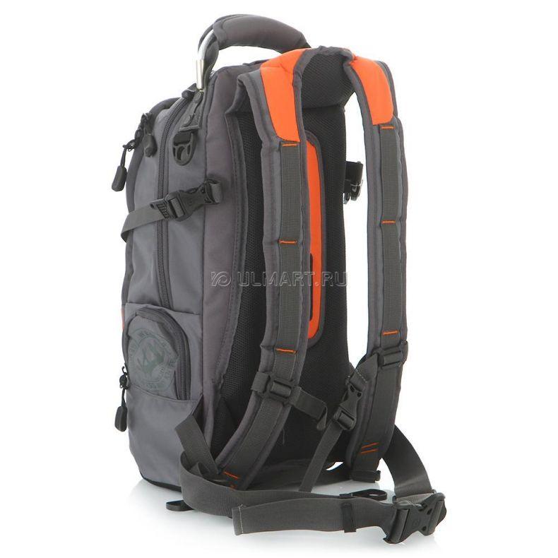 фото Рюкзак WENGER 13024715, серый/оранжевый/серебристый, полиэстер, 22л
