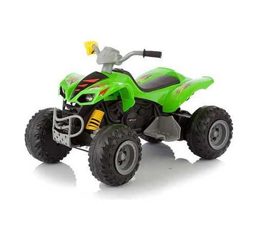фото Электромобиль-квадроцикл 2-х моторный SCAT KL-789, (салатовый)