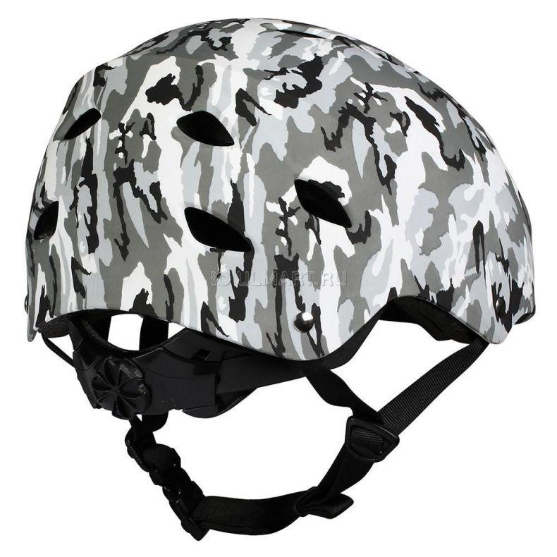 фото Защитный шлем Los Raketos BERKUT GREY CAMO S