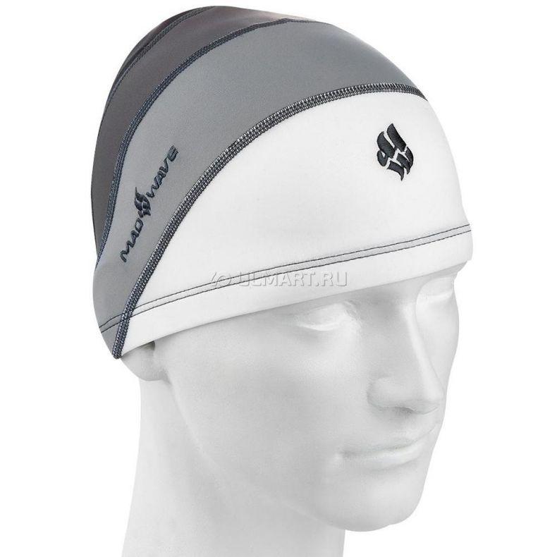 фото Текстильная шапочка MADWAVE LONG HAIR, Grey M0522 04 0 17W