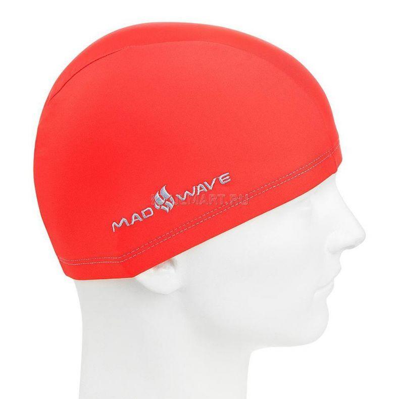 фото Текстильная шапочка MADWAVE Adult Lycra, Red M0525 01 0 06W