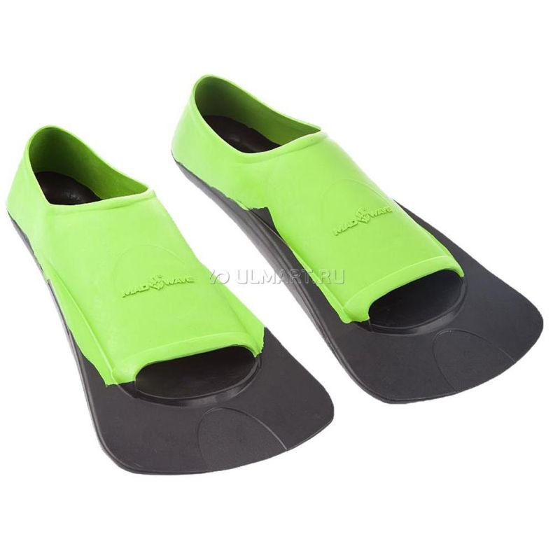 фото Ласты MADWAVE Fins Training II Rubber, 44-46, Green/Black M0749 03 7 06W
